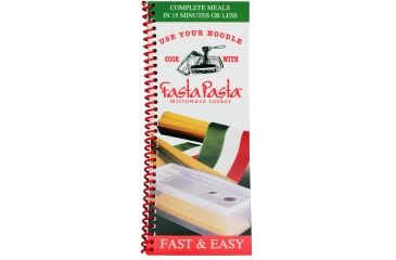 Camerons Products Fasta Pasta Full Color Spiral Bound Cookbook 111968