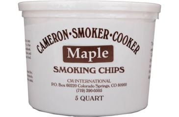 Camerons Products Smoking Chips, 5-Quart, Maple 111958