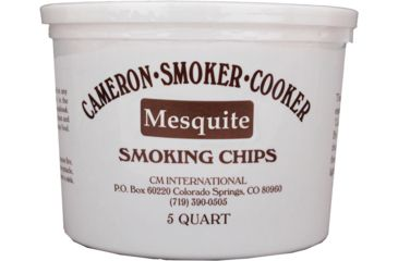 Camerons Products Smoking Chips, 5-Quart, Mesquite 111959