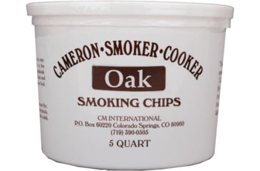 Camerons Products Smoking Chips, 5-Quart, Oak 111960
