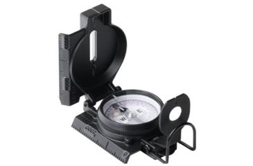 Cammenga S.W.A.T.Black Tritium Lensatic Compass, Vertical 166746