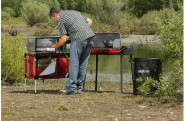 4-Camp Chef Collapsible Garbage Can