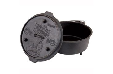 Camp Chef Deluxe Cast Iron Dutch Oven, 6quart Dutch Oven DO10CC