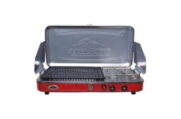 Camp Chef Mountain Rainier Burner, 2 x Burner, Stainless Steel, Aluminum MS2GCC