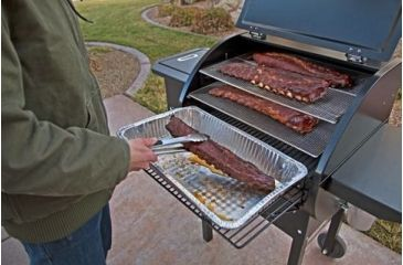 7-Camp Chef Pellet Grill & Smoker Collapsible Front Shelf