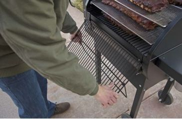 5-Camp Chef Pellet Grill & Smoker Collapsible Front Shelf