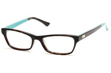 ad04a1c8bd43 Candies CA0122 Eyeglass Frames - Dark Havana Frame Color
