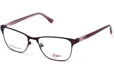 f283cb29b6f Candies CA0160 Eyeglass Frames - Bordeaux Frame Color