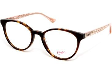 2e724b1b6ba Candies CA0165 Eyeglass Frames - Dark Havana Frame Color