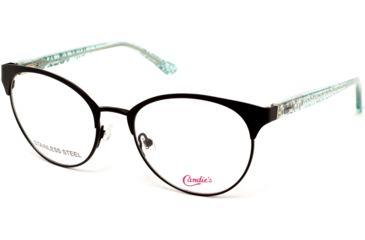 b9984eec93a Candies CA0166 Eyeglass Frames - Matte Black Frame Color