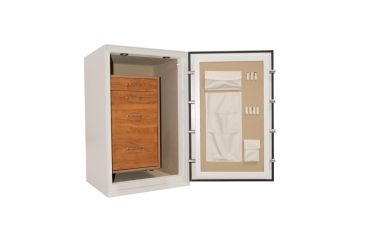 Cannon Safe Home Series 3824 Fire Resistant Security Safe w/ Electronic Lock, 38x24x22in, Hammertone Earth White HS3824-H6TEC-13