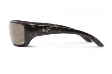 Maui Jim Canoes Sunglasses w/ Tortoise Frame and HCL Bronze Lenses - H208-10, Side View
