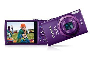Canon 16MP PowerShot ELPH 340 HS Digital Camera, Purple 9350B001