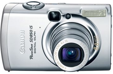 Canon PowerShot 8.0 Megapixel Digital ELPH SD850 IS 4X Optical Zoom Digital Camera 2047B001