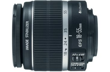 Canon EF-S 18-55mm f/3.5-5.6 IS Standard Zoom Lens 2042B002