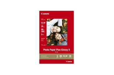 Canon Glossy II Photo Paper Plus 13 x 19, 20 Sheets 2311B026