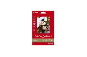 Canon Glossy 2 Photo Paper Plus 5 X 7 20 Sheets Free Shipping