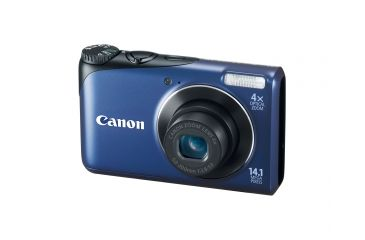 Canon PowerShot A2200 14.1 MP Digital Camera, Blue 4942B001