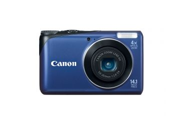 Canon PowerShot A2200 14.1 MP Digital Camera, Blue