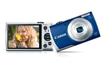 Canon PowerShot A2600 Compact Digital Camera, Blue 8160B001
