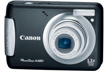 Canon PowerShot A480 10.0-megapixel 3.3x optical zoom Digital Camera Kit Black 3475B001