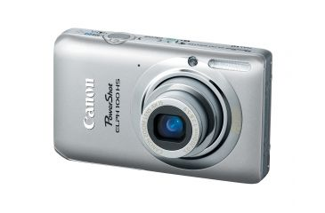 Canon PowerShot ELPH 100 HS 12.1 MP Digital Camera, Silver