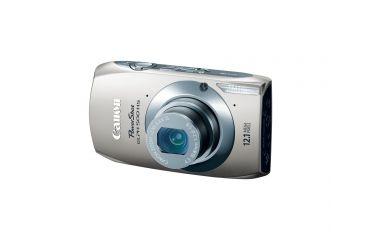 Canon PowerShot ELPH 500 HS 12.1 MP Digital Camera, Silver 5128B001