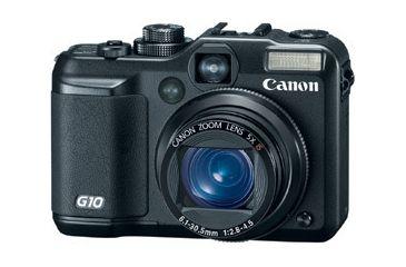 Canon PowerShot G10 Digital Camera - 14.7MP 5x Optical Zoom 3 inch Pure Color LCD II - 2663B001