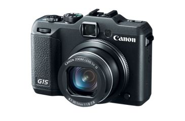Canon PowerShot G15 Digital SLR Camera, Black 6350B001