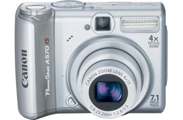 Canon PowerShot 7.1 Megapixel A570 IS 4X Optical Zoom Digital Camera 1773B001