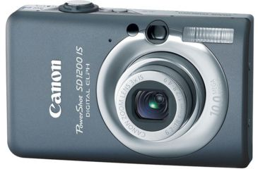 Canon PowerShot SD1200 IS 10.0 Megapixel Digital Camera Kit Dark Gray 3453B001