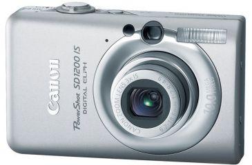 Canon PowerShot SD1200 IS 10.0 Megapixel Digital Camera Kit Light Gray 3448B001
