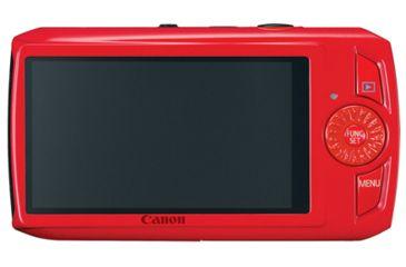 Canon PowerShot SD4000 IS Digital ELPH Kit, Red