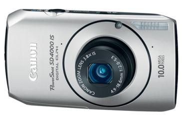 Canon Silver Power Shot SD4000 IS Digital ELPH Kit