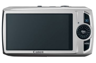 Canon Power Shot SD4000IS Photo Camera w/ 3inch LCD - Silver