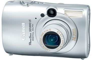 PowerShot SD990 IS Digital ELPH Kit - Silver