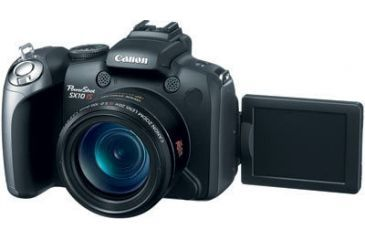 Canon PowerShot SX10 Front W/ back LCD