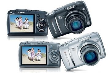 Canon Powershot SX110 IS 9MP Digital Camera w/ 10x Optical Zoom