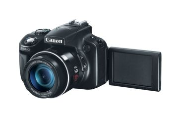 Canon PowerShot SX-50 HS Digital Camera, Black 6352B001