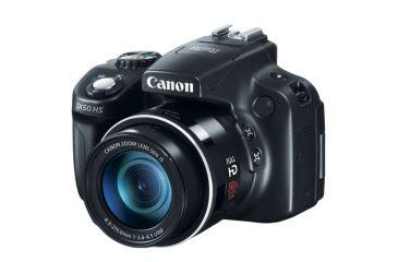 Canon PowerShot SX50 HS Digital Camera, Black 6352B001