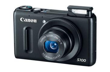 1-Canon PowerShot S100 Digital Camera -12.1 Megapixel, 5x Optical Zoom