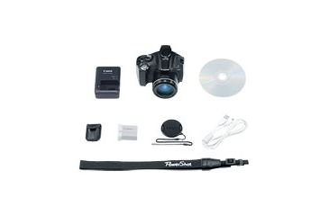 3-Canon Powershot SX40 HS Digital Camera - 12.1 MP, 35x Optical Zoom