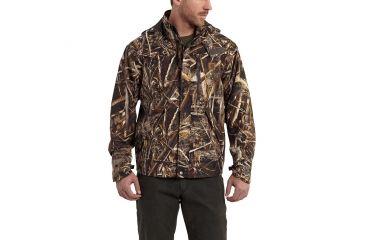 b8ae49e4a729e Carhartt Camo Shoreline Jacket for Mens, Realtree Max-5, Small/Regular  101090