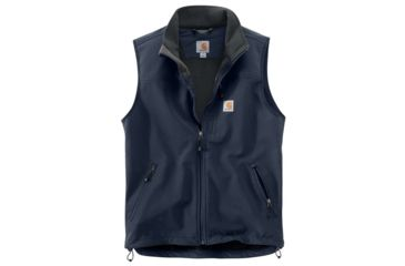 b4959da06ad97 Carhartt Denwood Vest - Mens, Navy, Small-Regular, 102219-412-