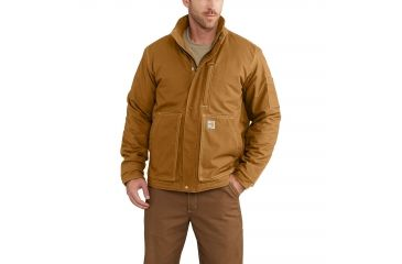 1d166f375 Carhartt Flame-Resistant Full Swing Quick Duck Lanyard Jacket for Mens