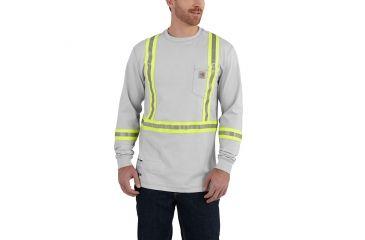 Carhartt flame resistant striped force cotton long sleeve for Carhartt men s long sleeve lightweight cotton shirt