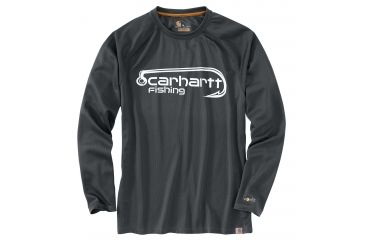 0561b0bc Carhartt Force Fishing Hook Graphic Long Sleeve T-shirt - Mens, Shadow, XL