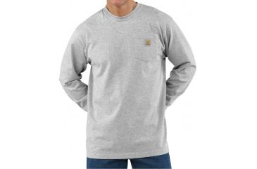 60ce3ebc1a78 Carhartt Long Sleeve Workwear Pocket T-Shirt - Mens | Up to 16% Off ...