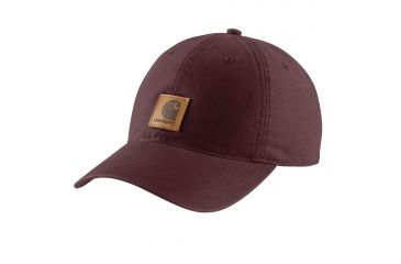 76940c18 Carhartt Odessa Cap for Womens, Deep Wine, One Size Fits All 102427-643
