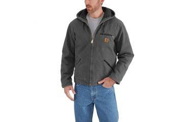 45ccfdd8120 Carhartt Sherpa Lined Sandstone Sierra Jacket - Mens